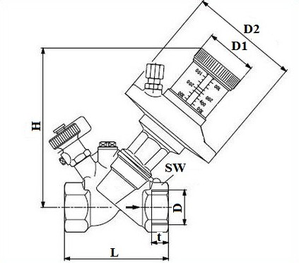 Размеры РПД15, РПД20